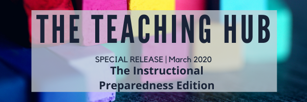 The Teaching Hub, Instructional Preparedness Edition